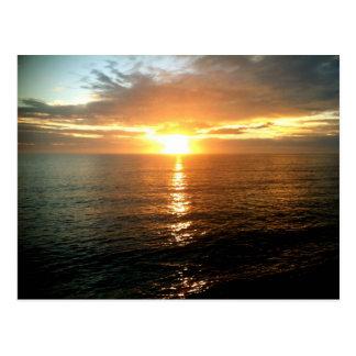 Sunrise at OBX in North Carolina Beach Postcard