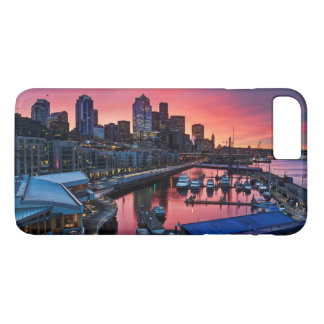 Sunrise at pier 66 looking down on bell harbor iPhone 7 plus case
