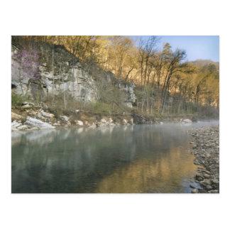 Sunrise at Roark Bluff, Steel Creek access, Postcard