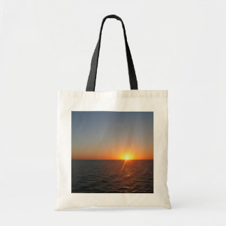 Sunrise at Sea III Ocean Horizon Seascape Tote Bag