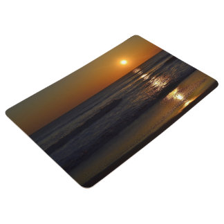 Sunrise at the Beach by Shirley Taylor Floor Mat
