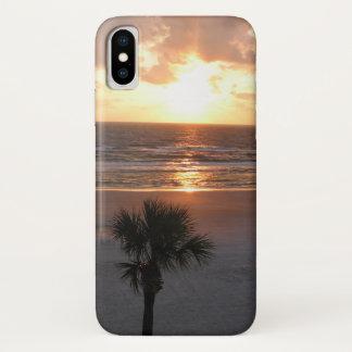Sunrise At The Beach iPhone X Case