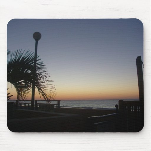 Sunrise at the Beach Mouse pad