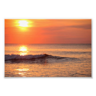 Sunrise at the Beach Photo Print