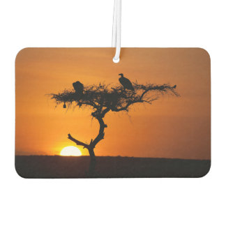 Sunrise at the Masai Mara, Kenya Car Air Freshener