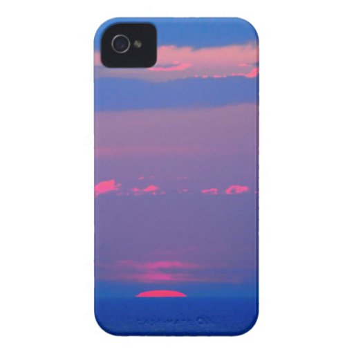 Sunrise at the sea to the Adria, Italia, iPhone 4 Case-Mate Case