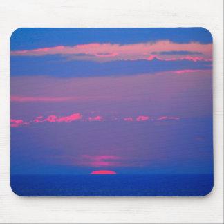 Sunrise at the sea to the Adria, Italia, Mousepads