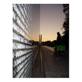 Sunrise at Vietnam Veterans Memorial Postcard