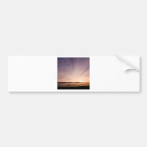 Sunrise Bavarian Wood Bumper Stickers