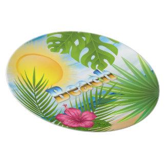 Sunrise Beach Design Plate