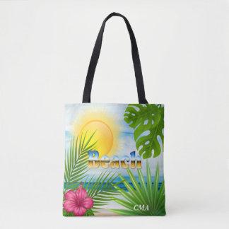 Sunrise Beach Design Tote Bag
