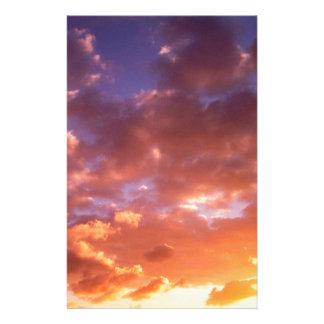 Sunrise Brand New Day Personalized Stationery