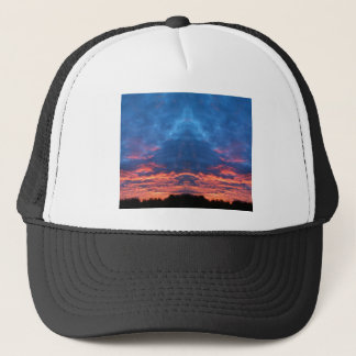 Sunrise Buddha Trucker Hat
