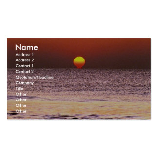 Sunrise Business Card Templates