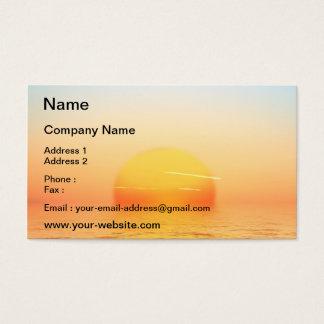 Sunrise Business Card