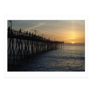Sunrise Catch Post Card
