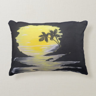 Sunrise Cave Accent Pillow