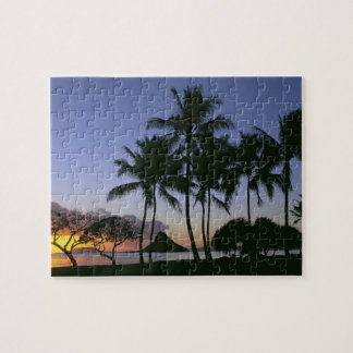 Sunrise Chinamans Hat Kaneohe Bay Kaneohe Oahu Puzzles