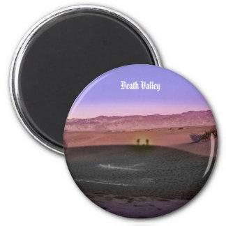 Sunrise Death Valley National Park 6 Cm Round Magnet
