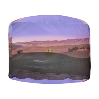 Sunrise Death Valley National Park Pouf