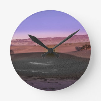 Sunrise Death Valley National Park Round Clock