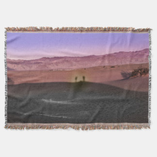 Sunrise Death Valley National Park Throw Blanket