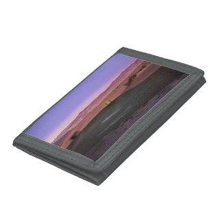 Sunrise Death Valley National Park Trifold Wallets