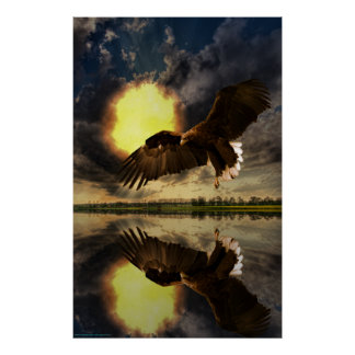 Sunrise-Eagle-Ver-1 Poster