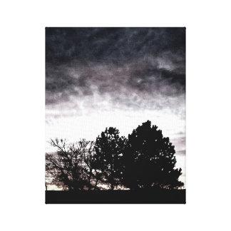 Sunrise Exposure Canvas Print