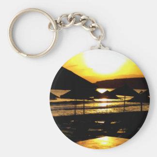 Sunrise from Greece Key Chain