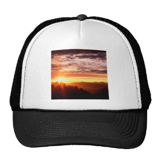 Sunrise Great Smoky Mountains Mesh Hat