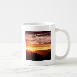 Sunrise Great Smoky Mountains Coffee Mugs