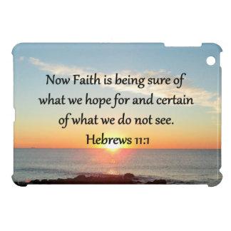 SUNRISE HEBREWS 11:1 PHOTO DESIGN iPad MINI COVERS