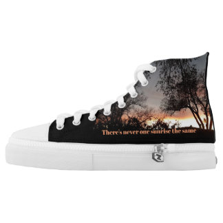 Sunrise High Top Shoe