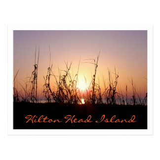 Sunrise Hilton Head Island Postcard