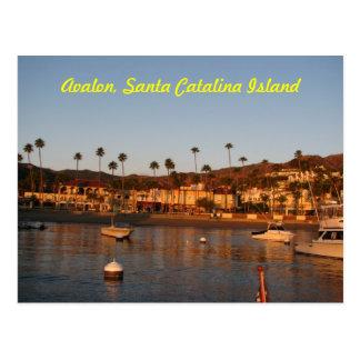 Sunrise in Avalon Postcard
