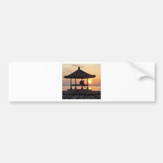 Sunrise in Bali Bumper Sticker