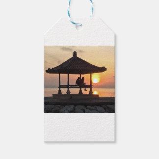 Sunrise in Bali Gift Tags