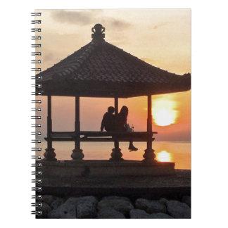 Sunrise in Bali Notebook