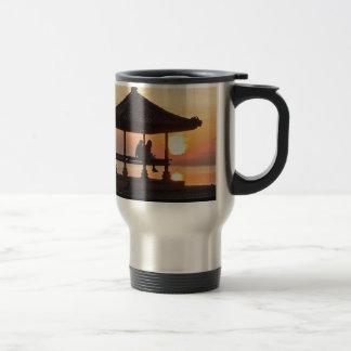 Sunrise in Bali Travel Mug
