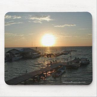 Sunrise In Belize Mousepad By Nature's Rhapsody