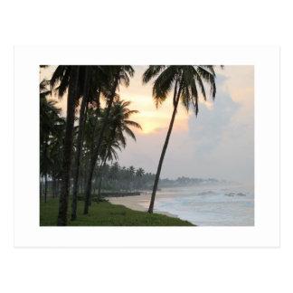 Sunrise in Elmina, Ghana Postcard