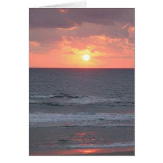Sunrise in Florida Card