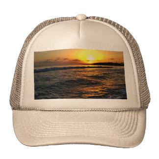 Sunrise in Greece Trucker Hats