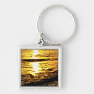 Sunrise in Greece Keychain