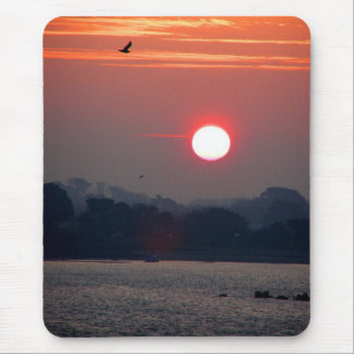 Sunrise in Guernsey Mouse Pad