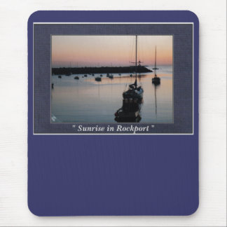 """"""" Sunrise in Rockport """" Mouse Pad"""