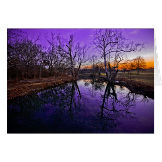 Sunrise in Seneca Park Card