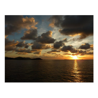 Sunrise in St. Thomas I US Virgin Islands Postcard