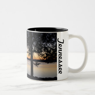 Sunrise in Tennessee Two-Tone Coffee Mug